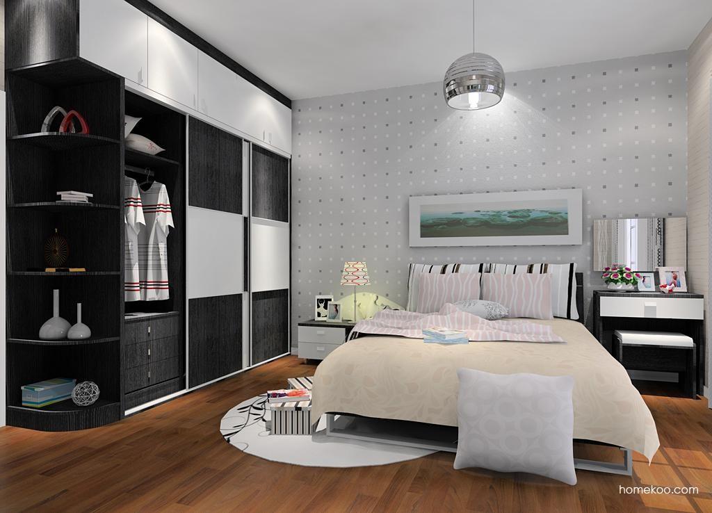 简约主义卧房家具A10373