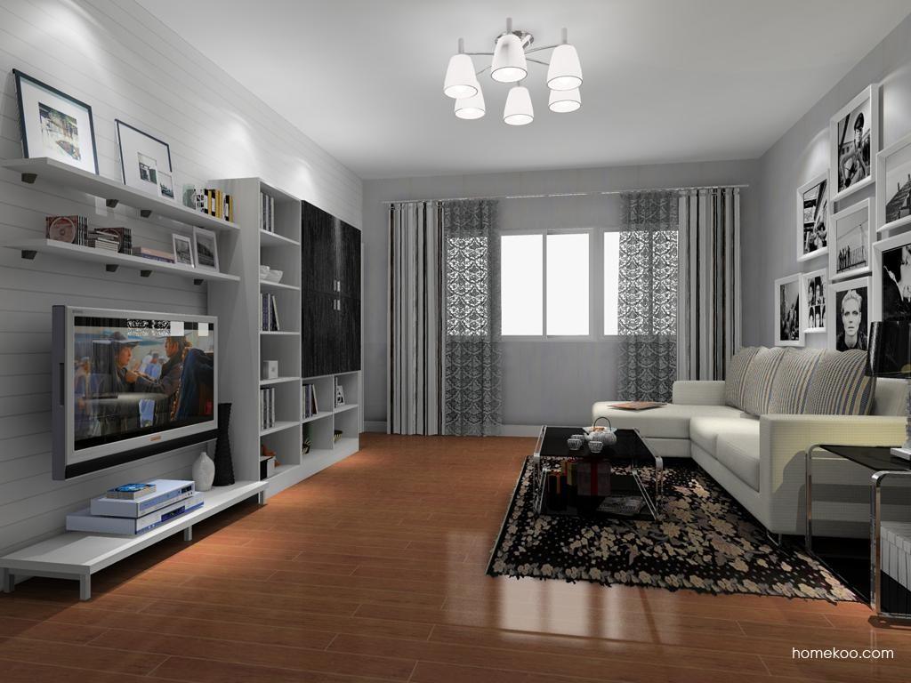 简约主义客厅家具D8390