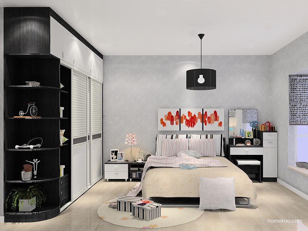 简约主义卧房家具A10376