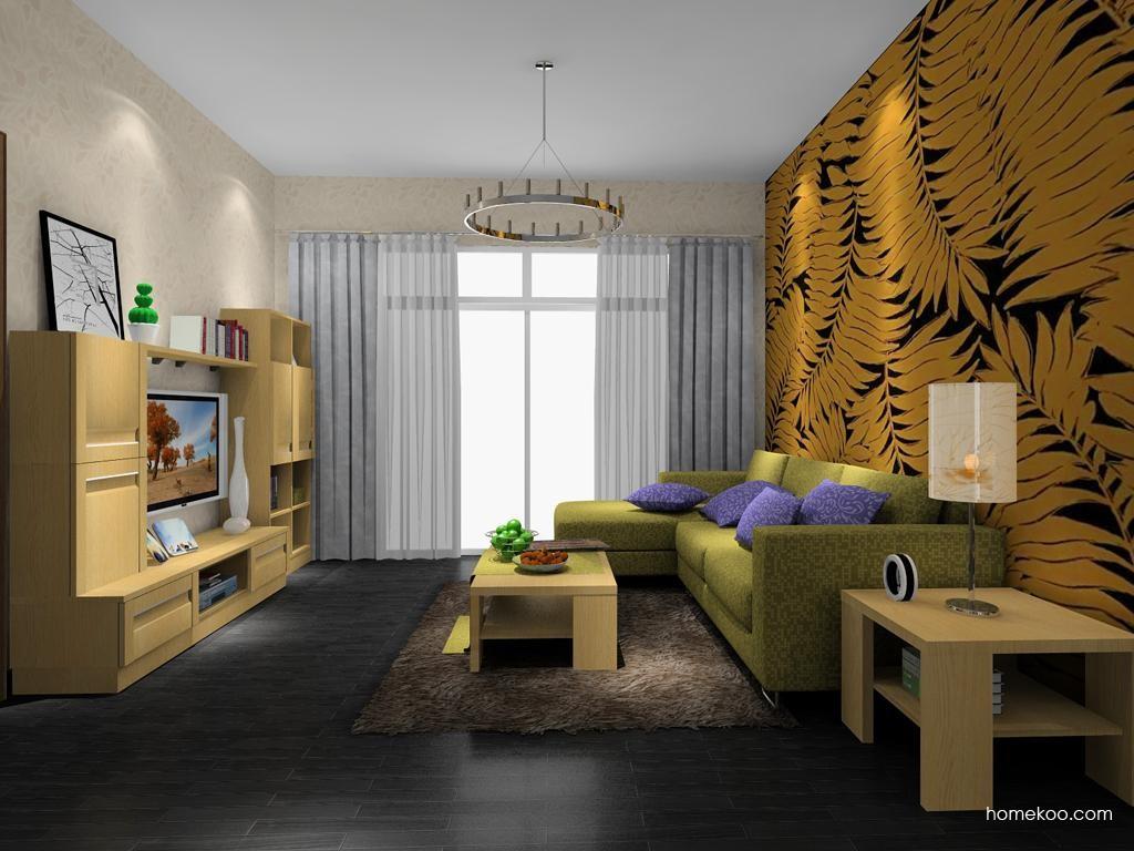 丹麦本色客厅家具D8387