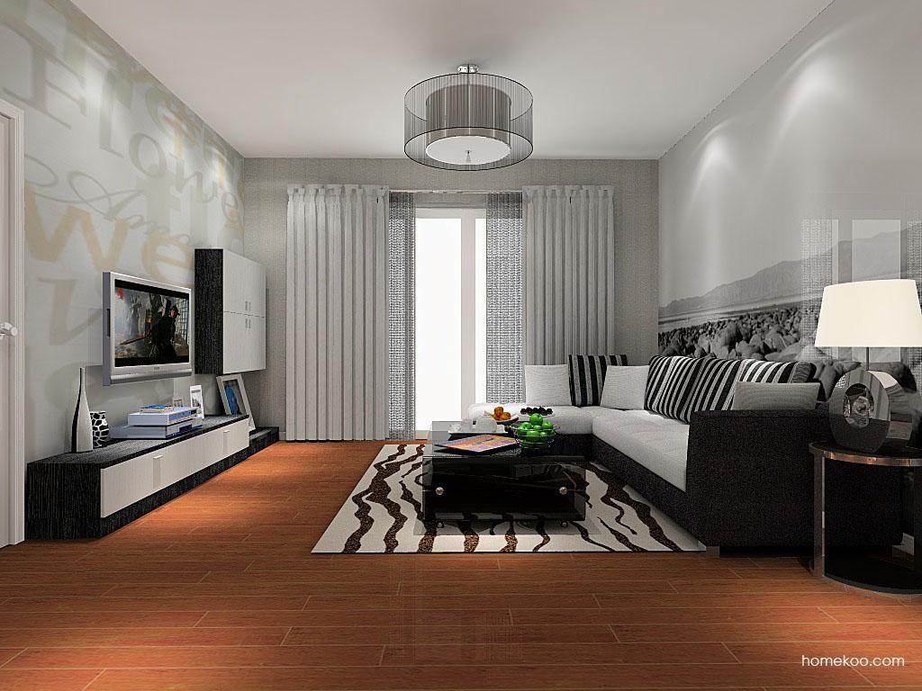 简约主义客厅家具D8385