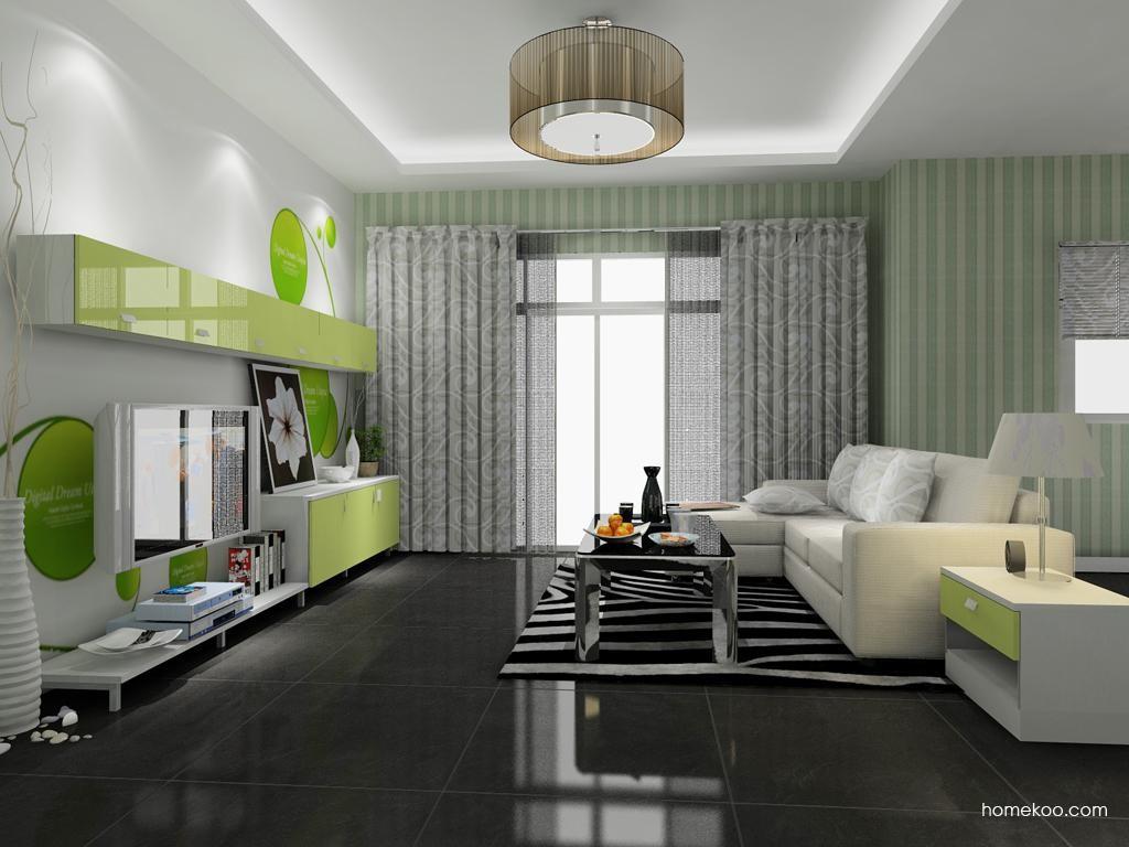 浪漫主义客厅家具D8408