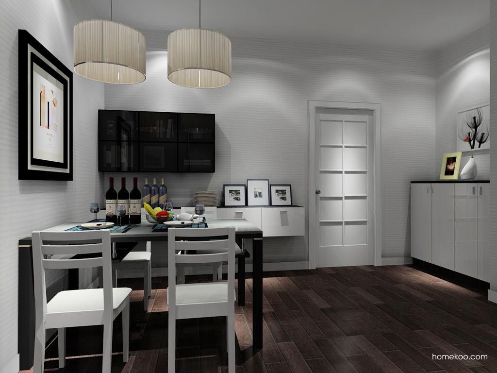 新实用主义餐厅家具E8406