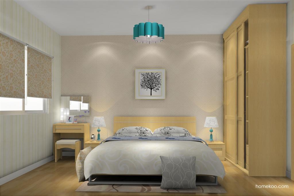 丹麦本色卧房家具A10482