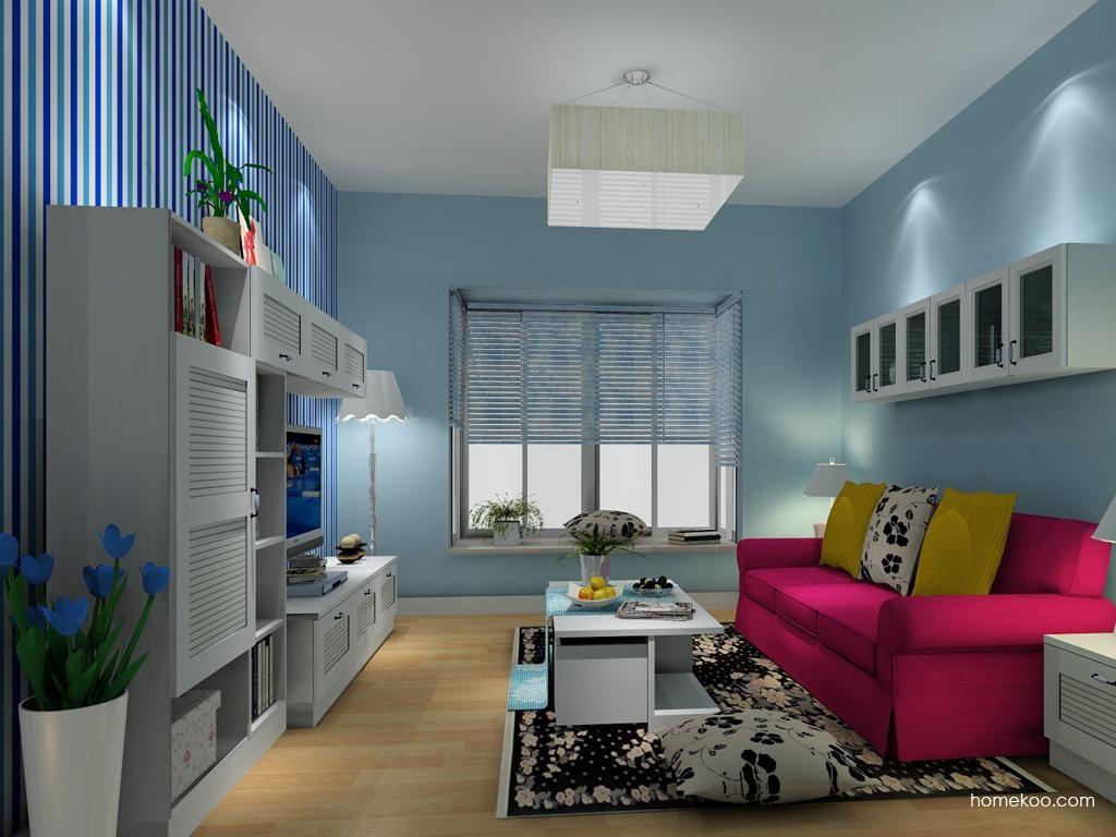 韩式田园客厅家具D8437