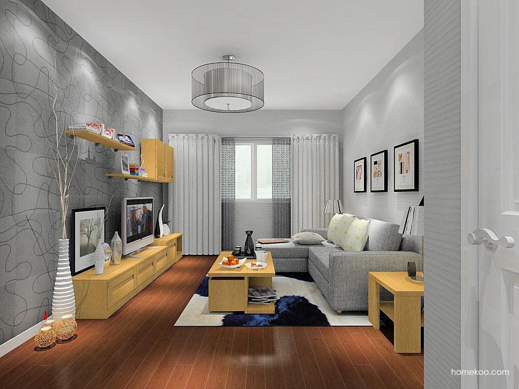 丹麦本色客厅家具D8436