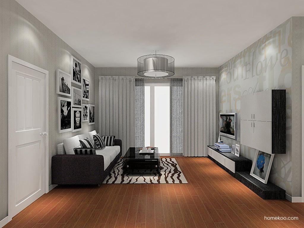 简约主义客厅家具D8434