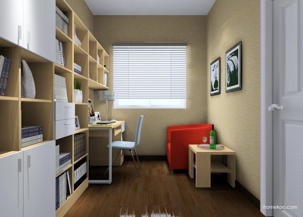新实用主义书房家具C10406