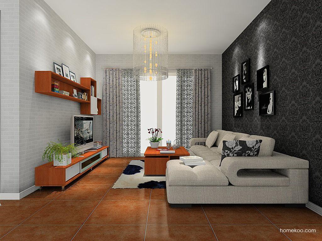新实用主义客厅家具D8449