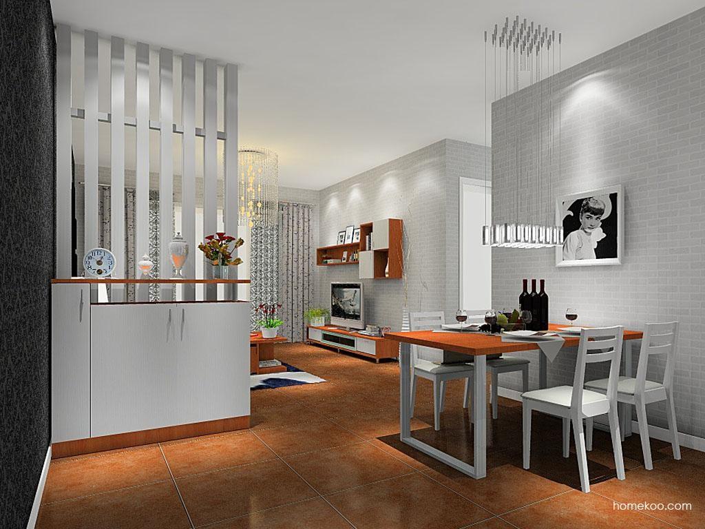 新实用主义餐厅家具E8440