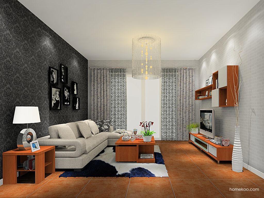 新实用主义客厅家具D8445