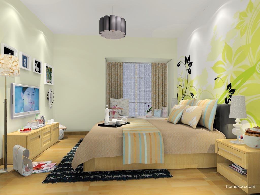 丹麦本色卧房家具A10607