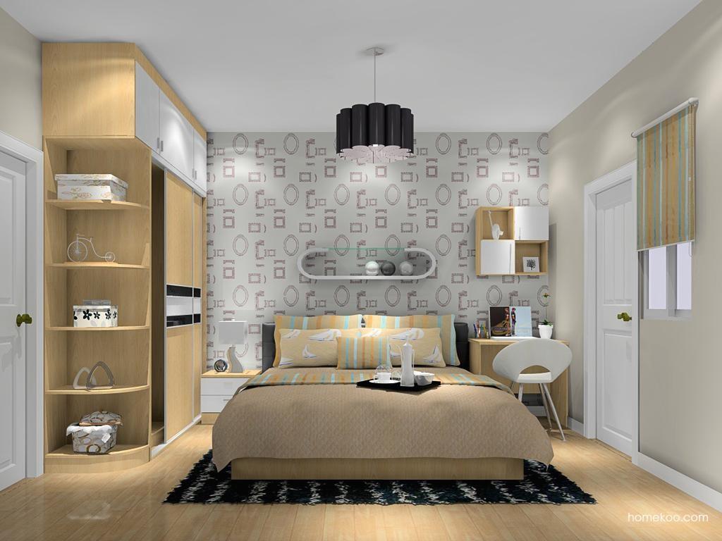 新实用主义卧房家具A10617