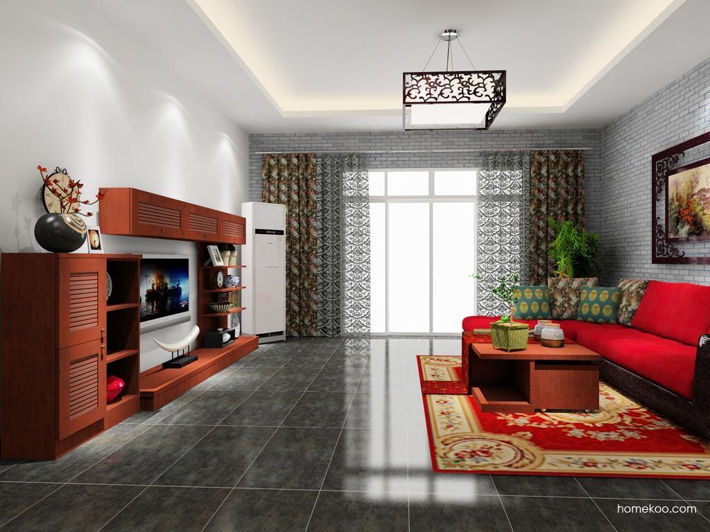 新中式主义客厅家具D8451