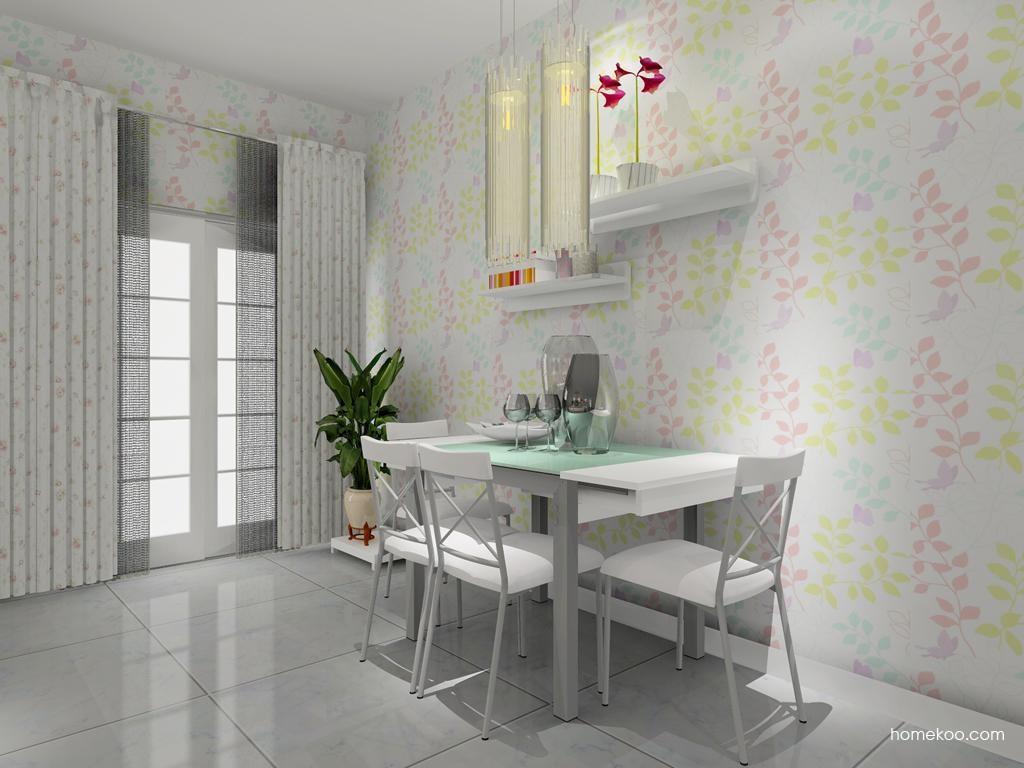 浪漫主义餐厅家具E8443