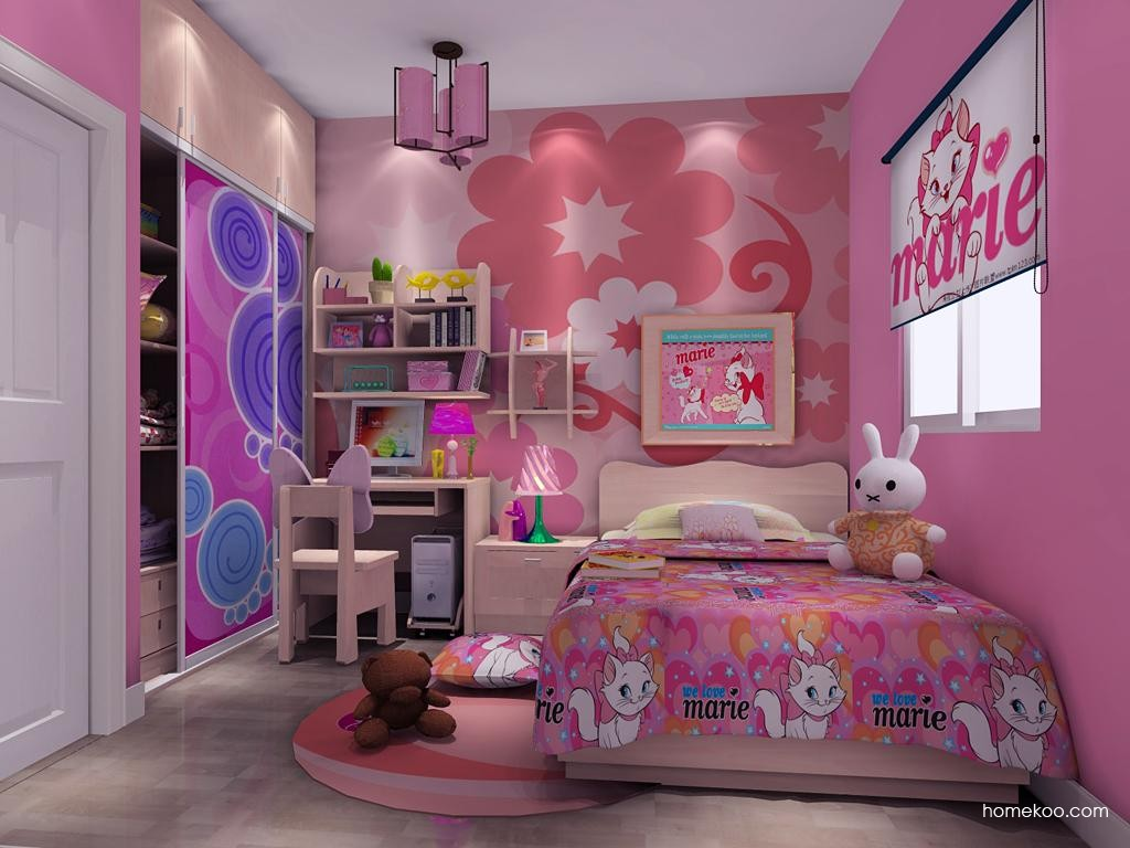 女孩的梦青少年房B10523