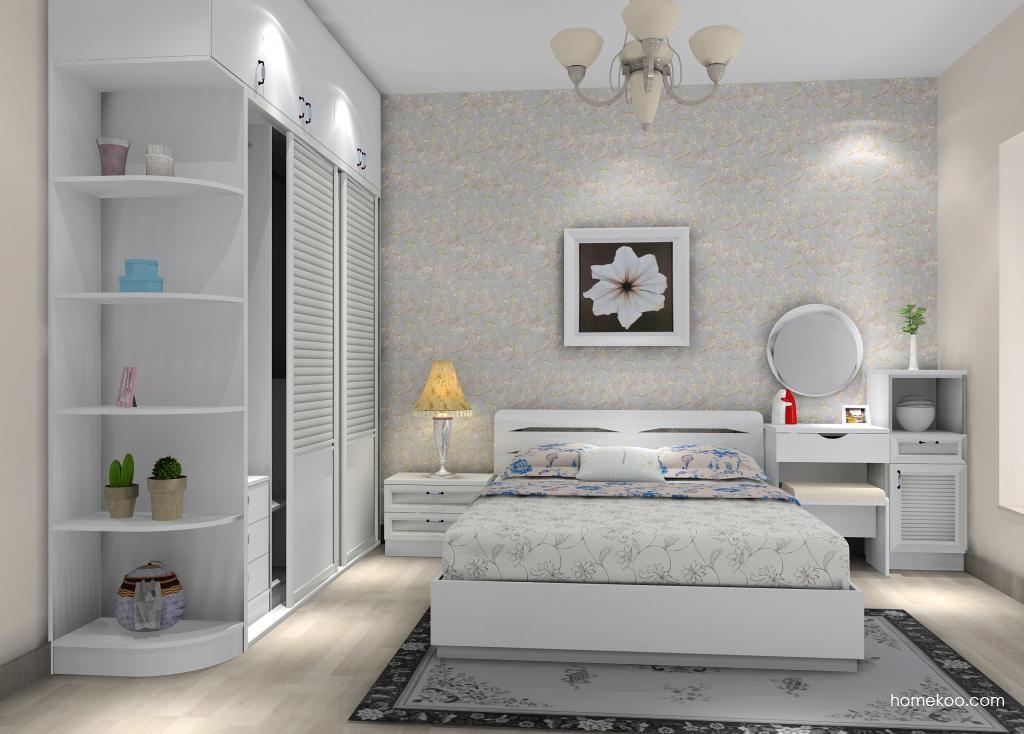 新实用主义卧房家具A10584