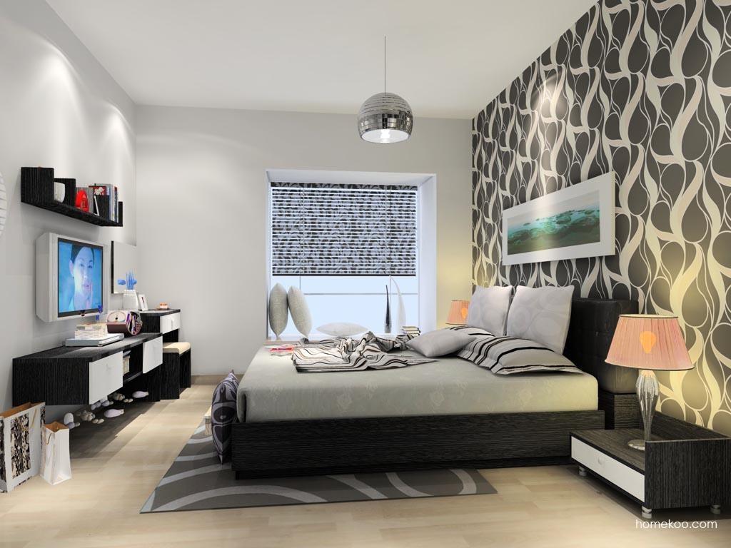 简约主义卧房家具A10601