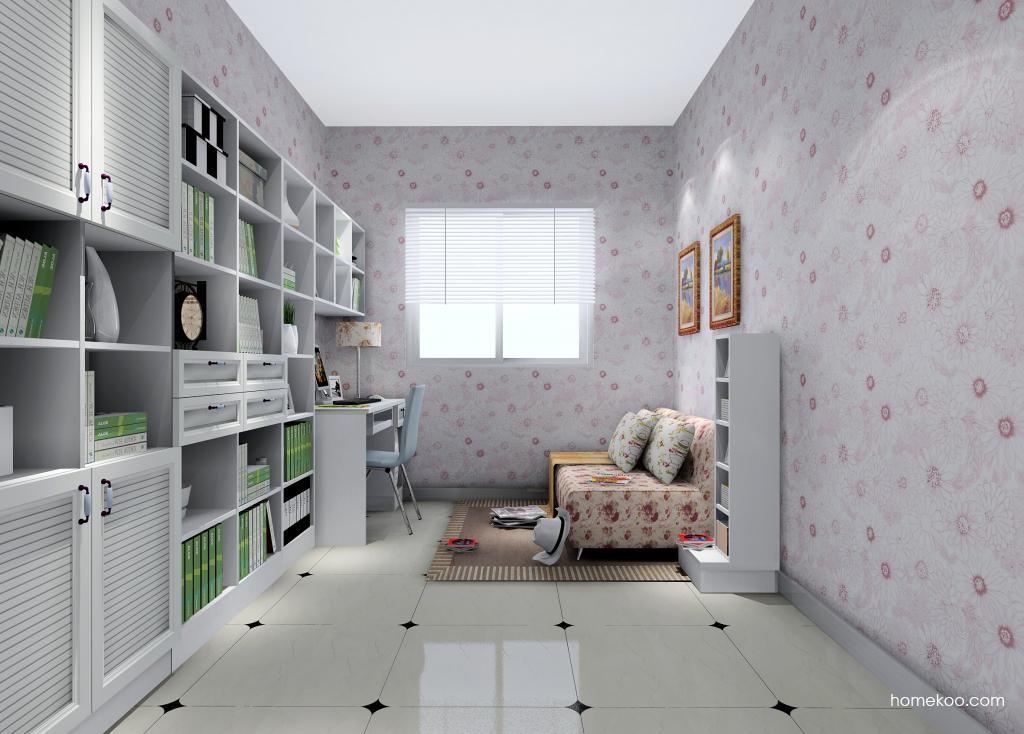 韩式田园书房家具C10418