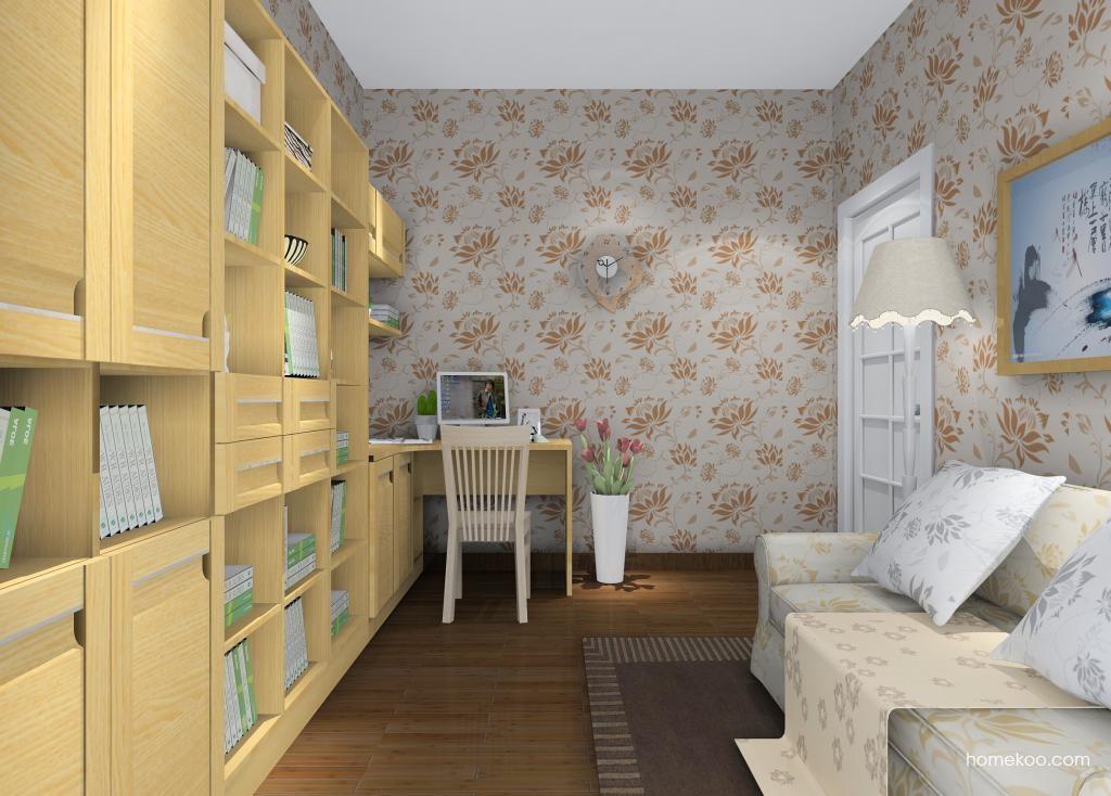 丹麦本色书房家具C10421