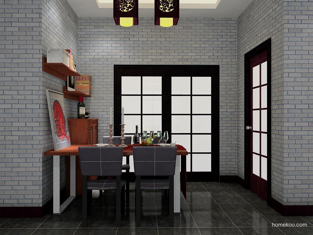 新中式主义餐厅家具E8456