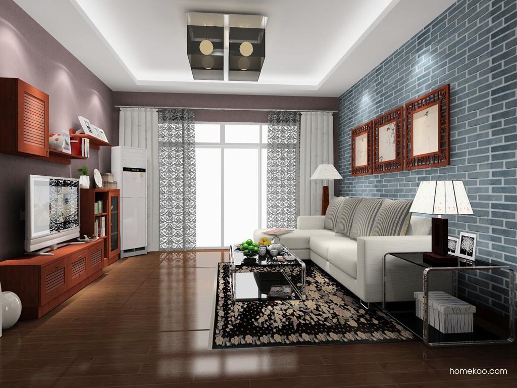 新中式主义客厅家具D8477