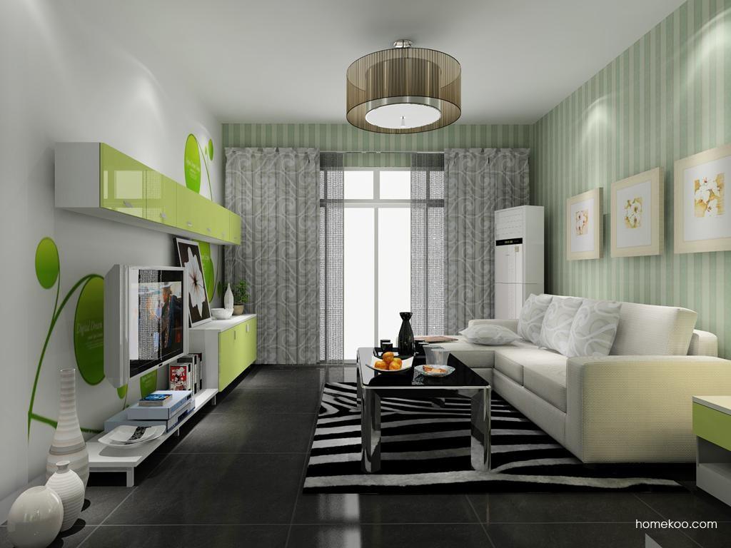 浪漫主义客厅家具D8474