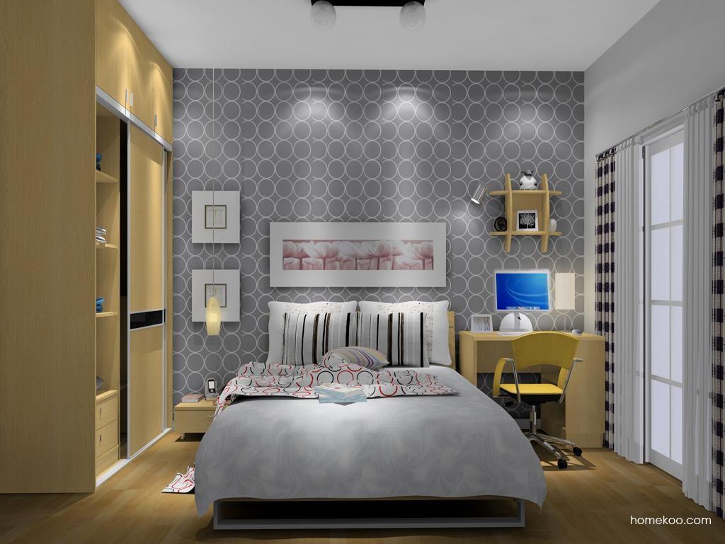 新实用主义卧房家具A10664