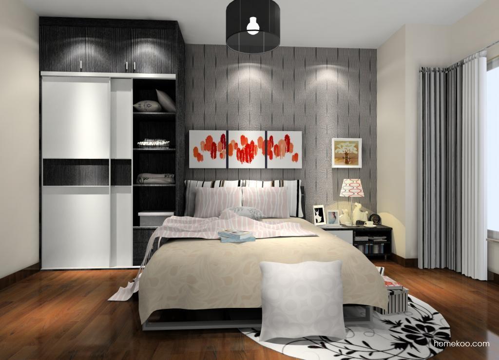 简约主义卧房家具A10706