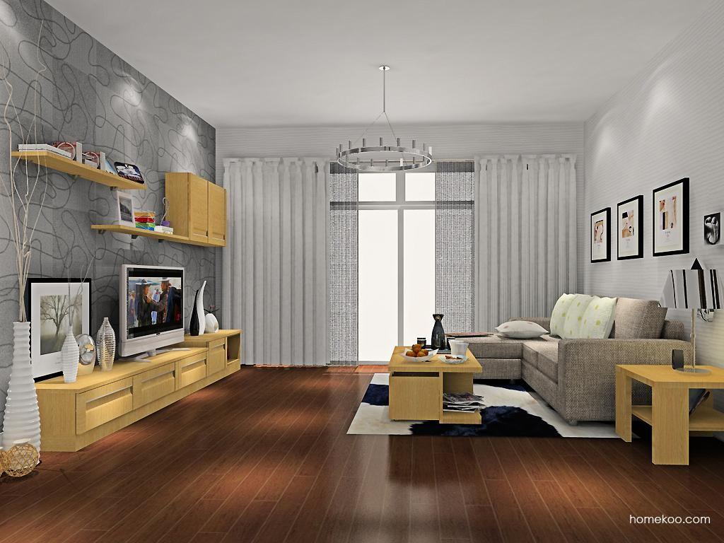 丹麦本色客厅家具D8478