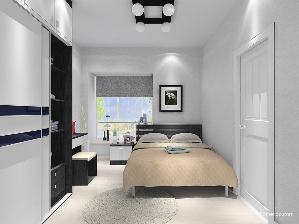 简约主义卧房家具A10831