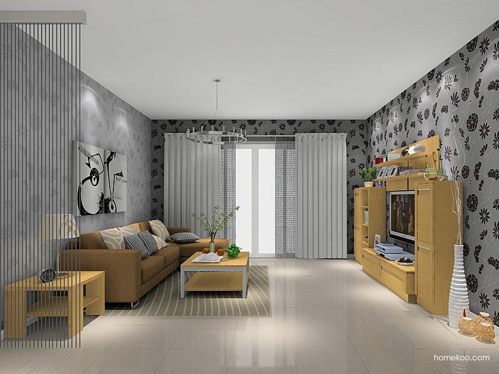 丹麦本色客厅家具D8491