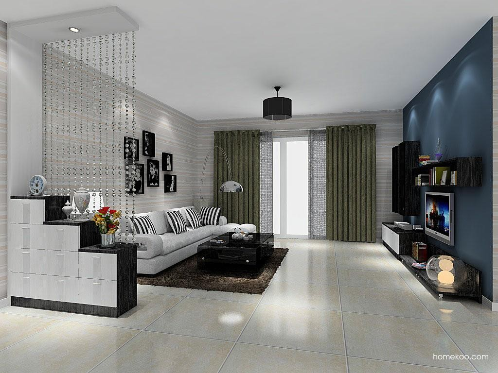 简约主义客厅家具D8495