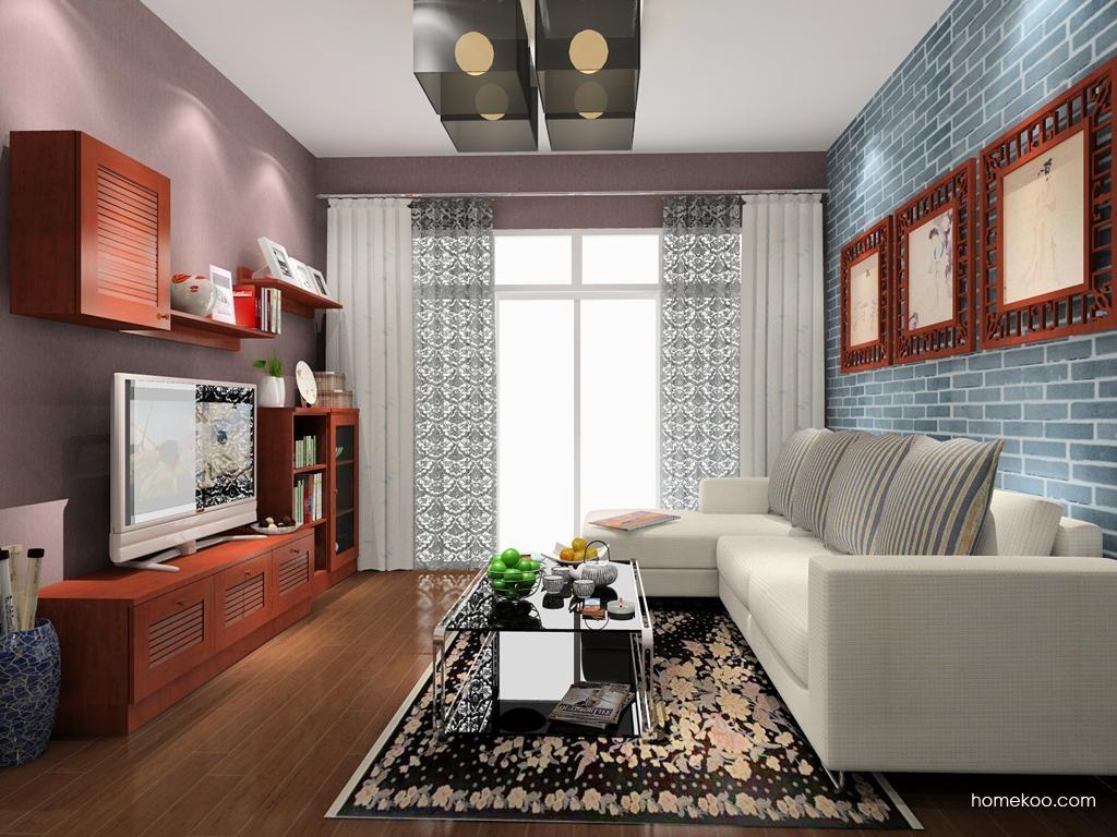 新中式主义客厅家具D8508