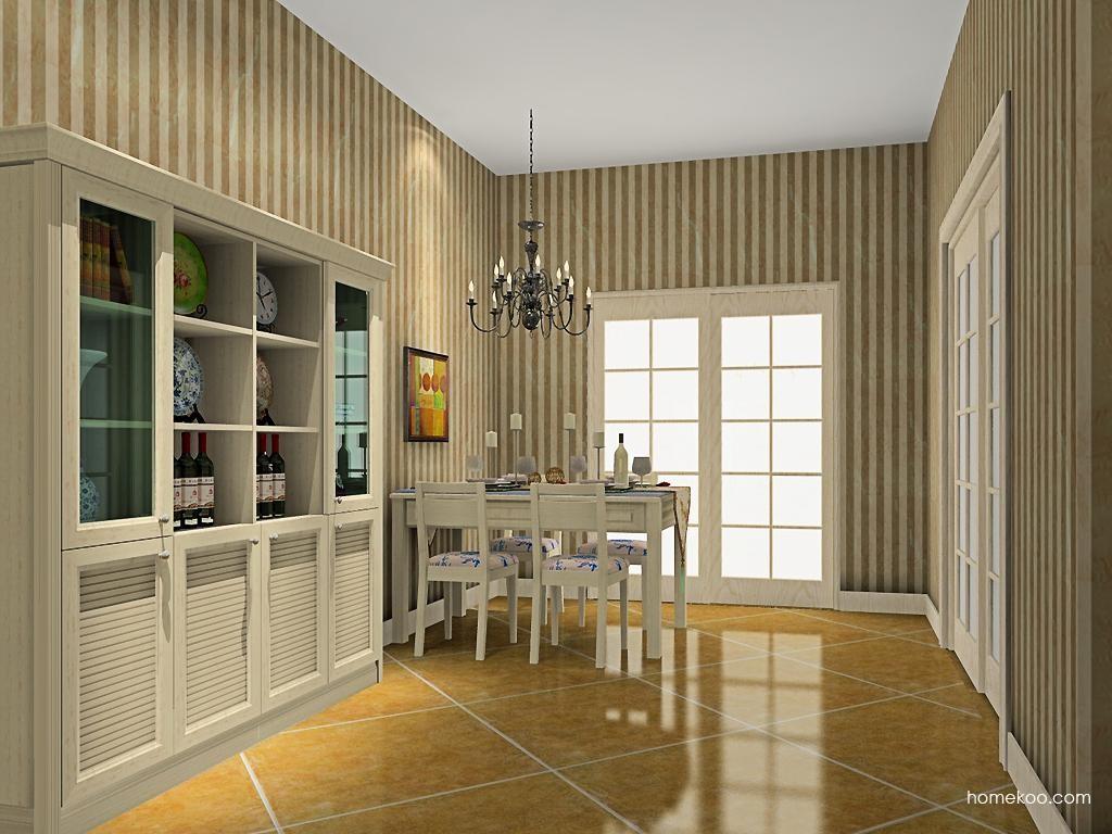 英伦印象餐厅家具E8495