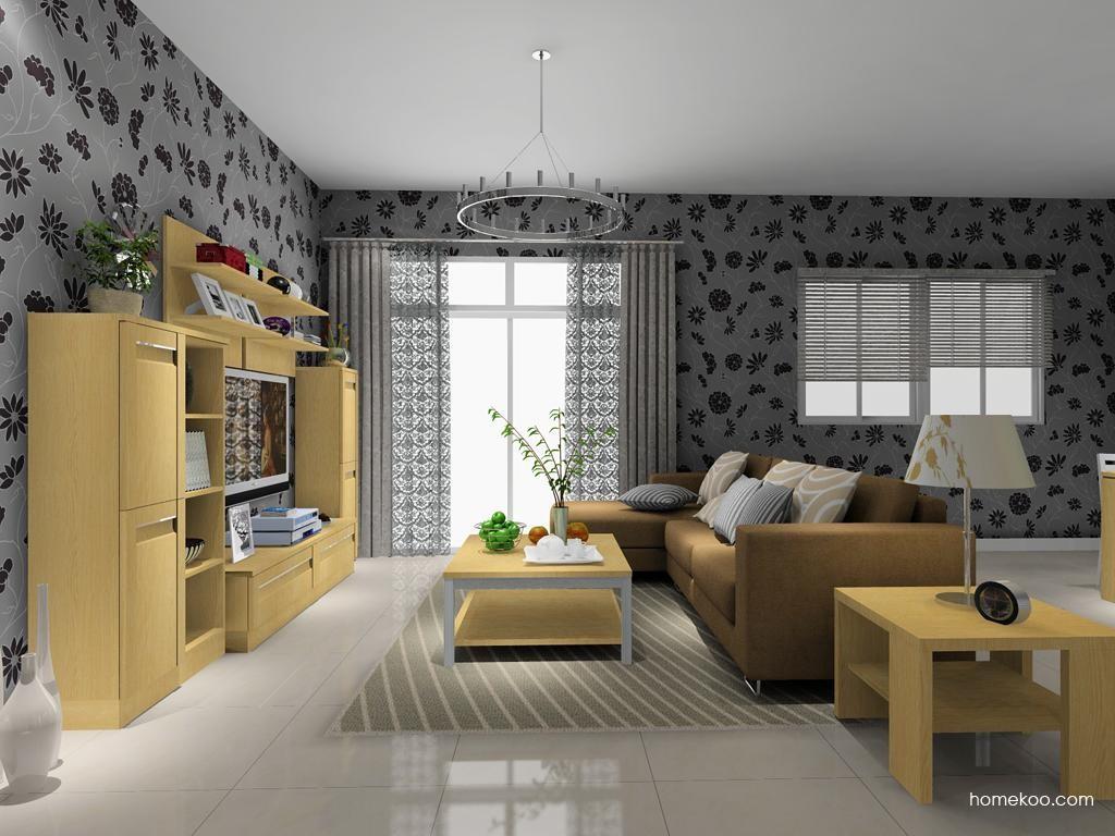 丹麦本色客厅家具D8510