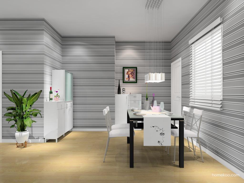 浪漫主义餐厅家具E8491