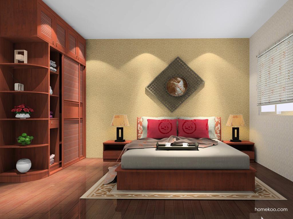 新中式主义卧房家具A10925