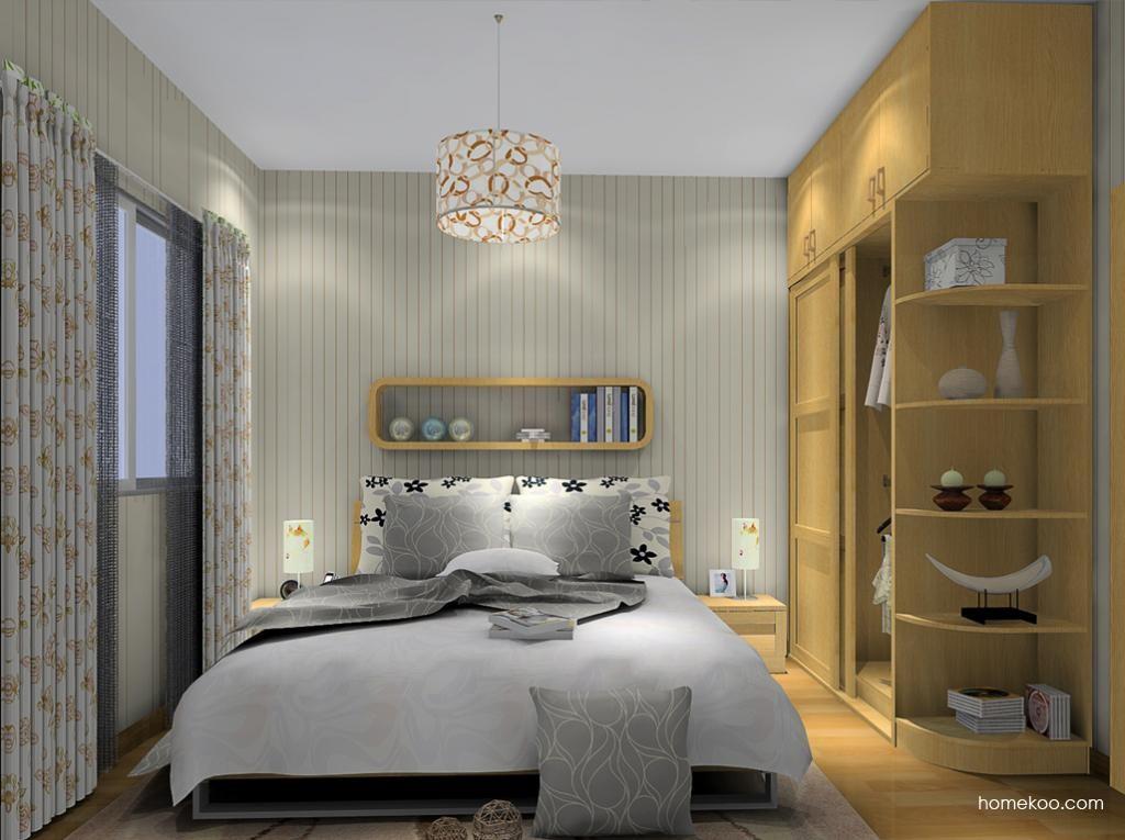 丹麦本色卧房家具A10879