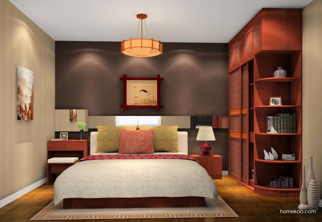 新中式主义卧房家具A10912