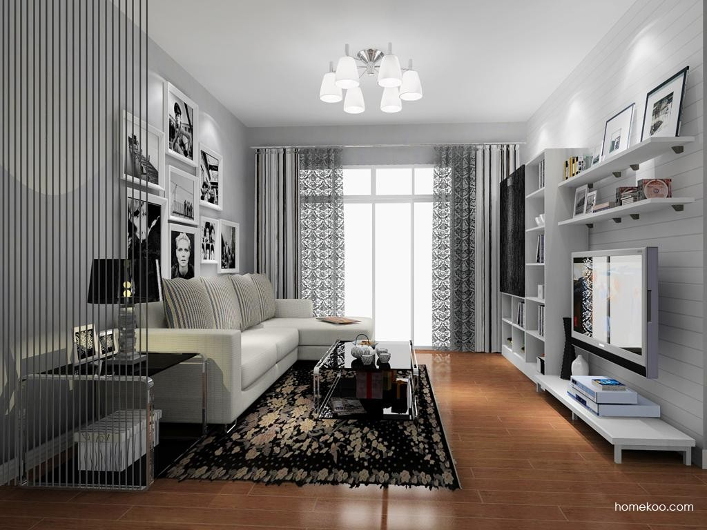 简约主义客厅家具D8533