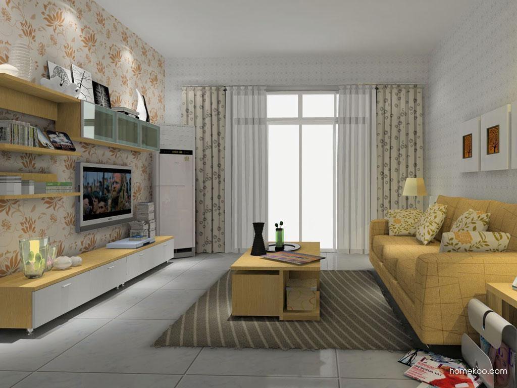 新实用主义客厅家具D8547