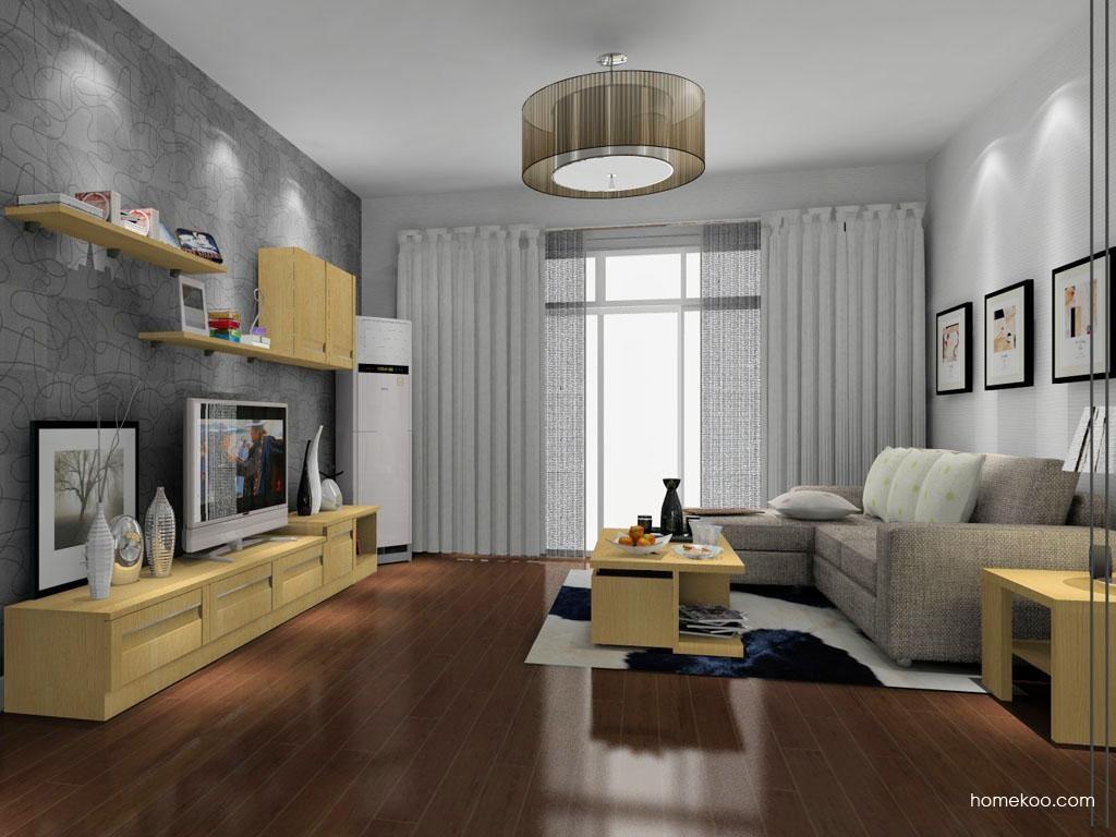丹麦本色客厅家具D8549