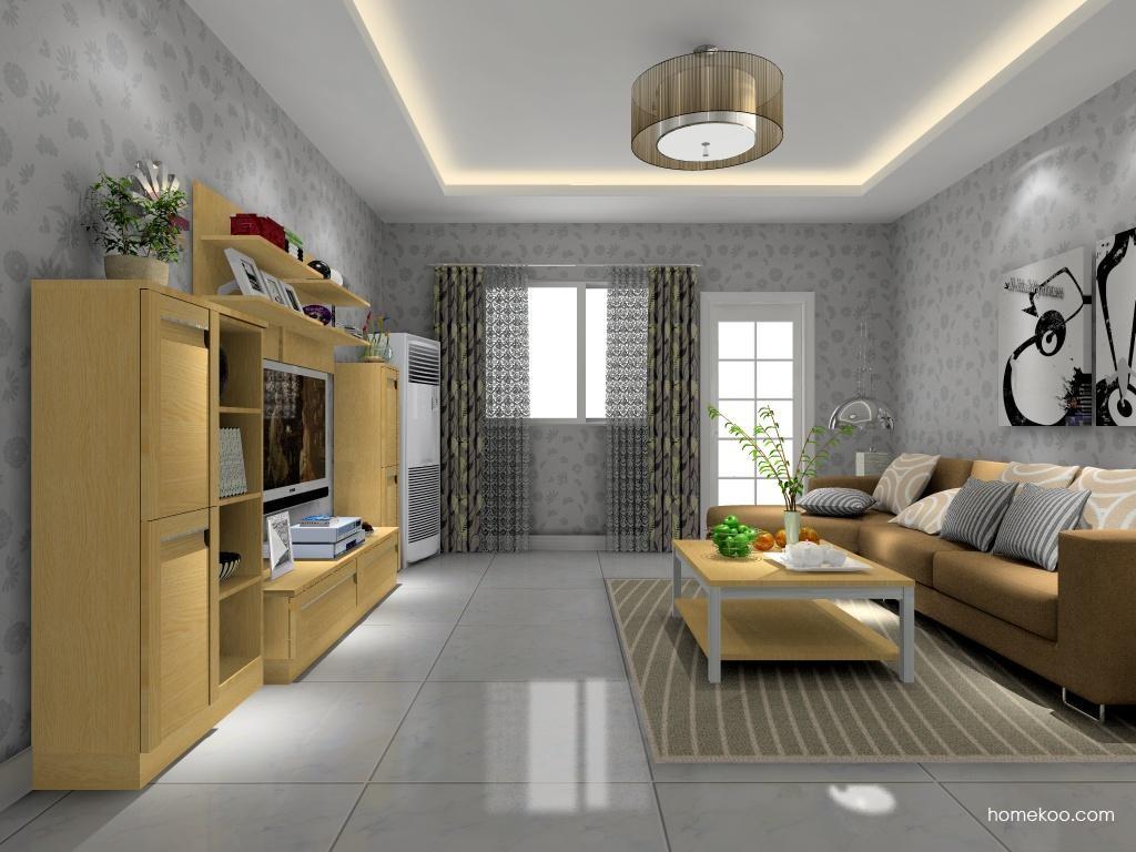 丹麦本色客厅家具D8540