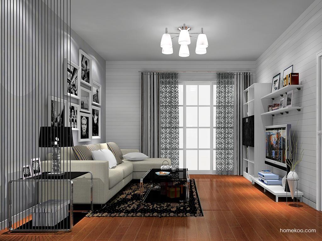 简约主义客厅家具D8552