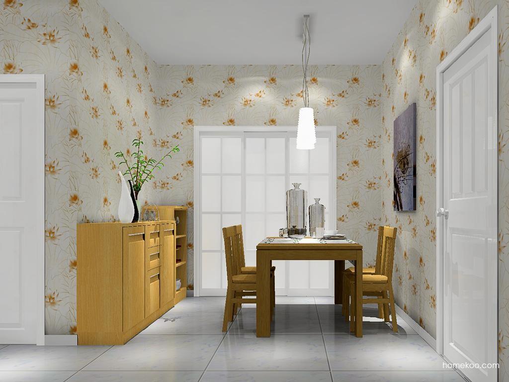 丹麦本色餐厅家具E8559