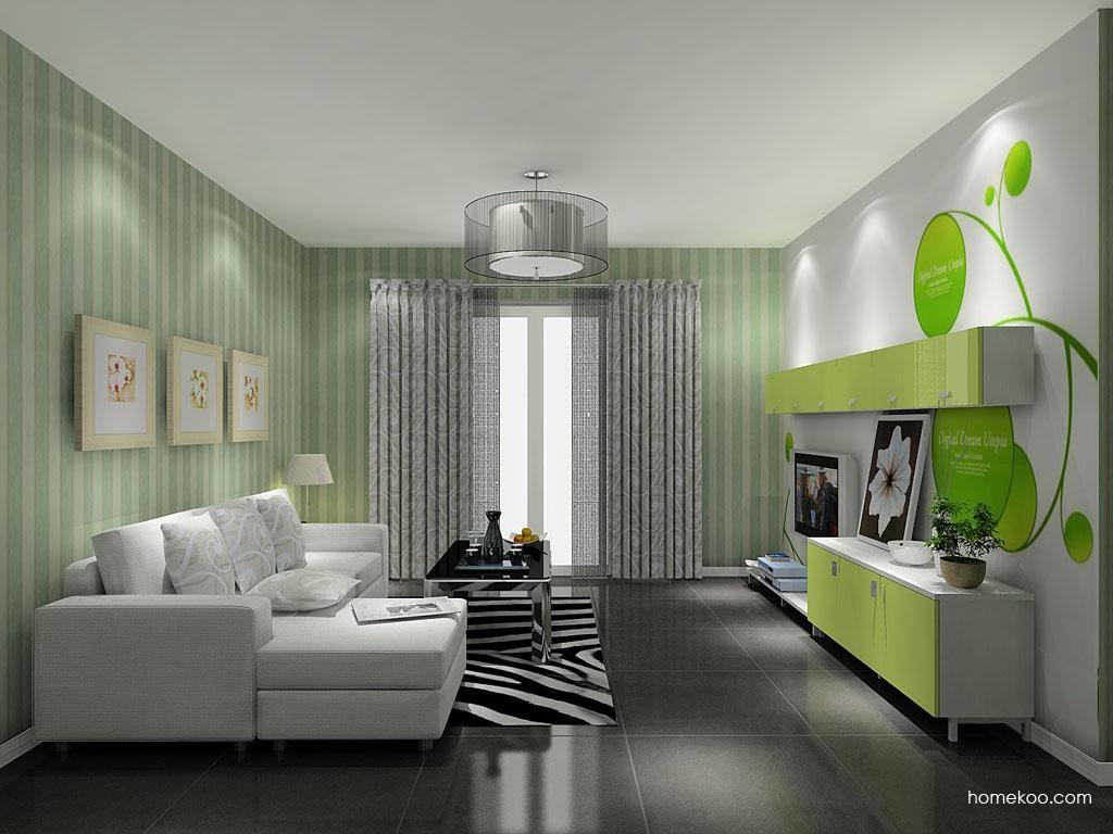 浪漫主义客厅家具D8555