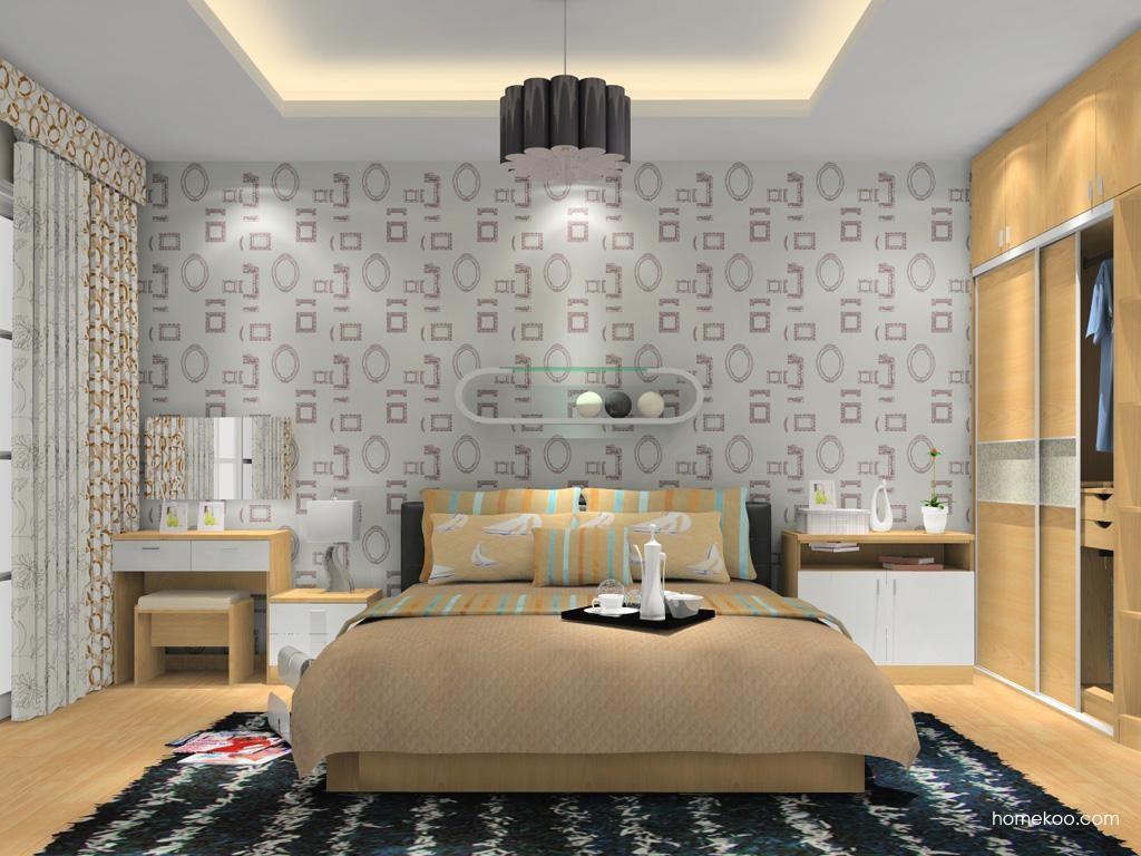 新实用主义卧房家具A11140