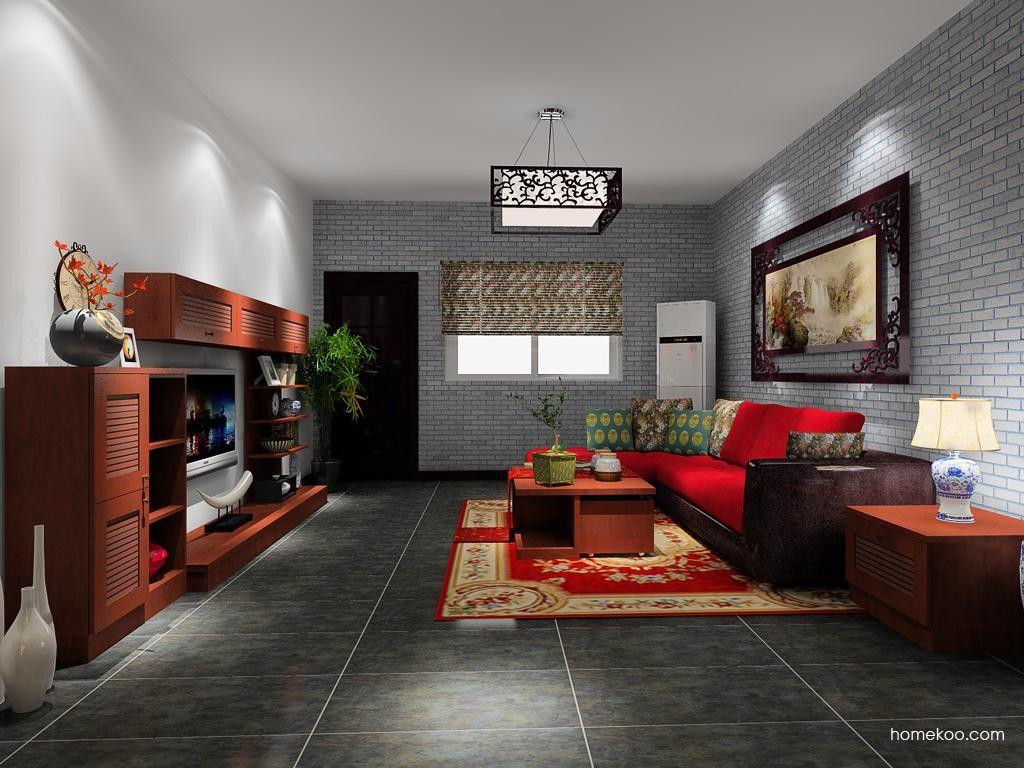 新中式主义客厅家具D8563