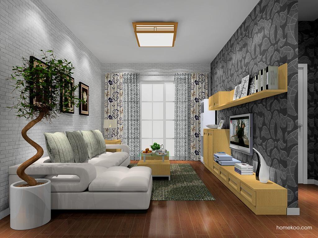 丹麦本色客厅家具D8565